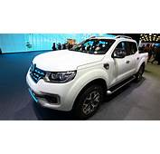 New Alaskan Pickup Brings Ruggedness To Renaults Paris Stand