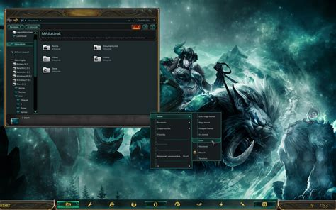 themes for windows 7 league of legends league of legends windows game version preview by