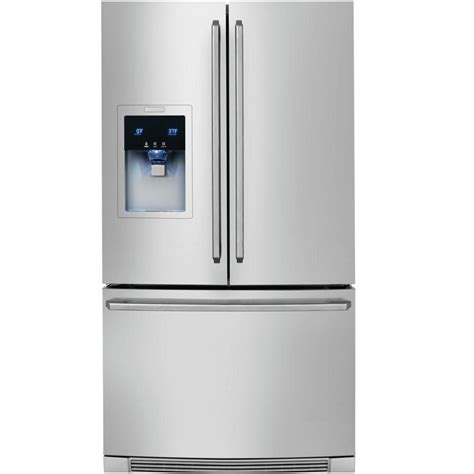 Water Dispenser Electrolux electrolux 28 cu ft bottom mount door refrigerator with and water dispenser in