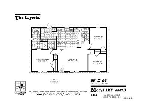 imlt 46412b mobile home floor plan ocala custom homes imp 4447b mobile home floor plan ocala custom homes