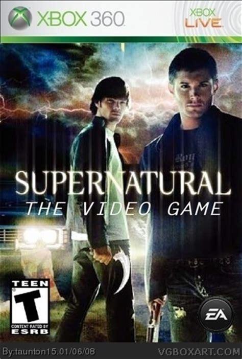 supernatural xbox  box art cover  taunton
