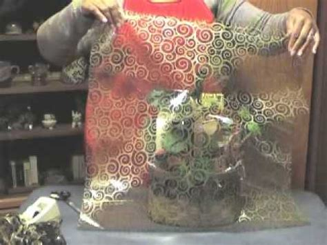 wrapping a gift basket with cellophane how to wrap a gift basket with cellophane