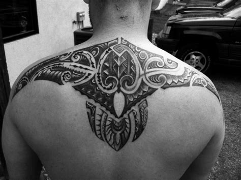 tribal tattoos for guys back 60 tribal back tattoos for bold masculine designs