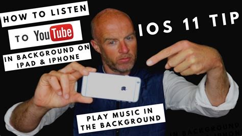 listen  youtube  background  ios play