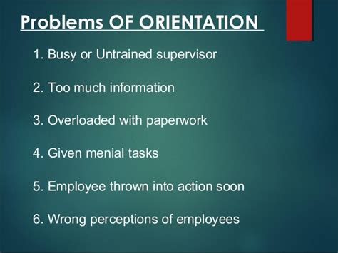 induction and orientation of employees induction and orientation in hrm
