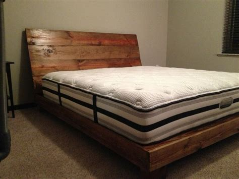 Wood King Bed Frame by Reclaimed Wood Bed Frame King Home Design Ideas