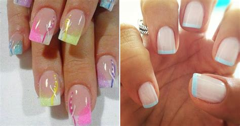 manicure with color different colored nails nail styling