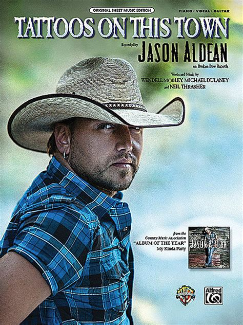 jason aldean tattoos on this town jason aldean sheet books scores buy