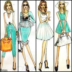 fashion designer sketches draw 2015 2016 fashion trends