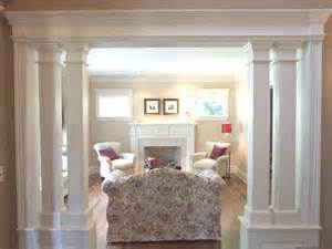 living room columns living room with interior columns columns pinterest