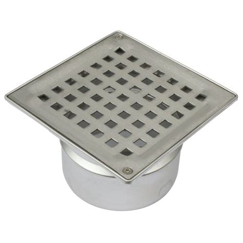 Shower Floor Drain by Shower Floor Drain Square Drain Stainless Steel 110mm With