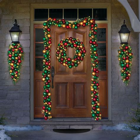 lighted door garland 28 images lighted door garland 28