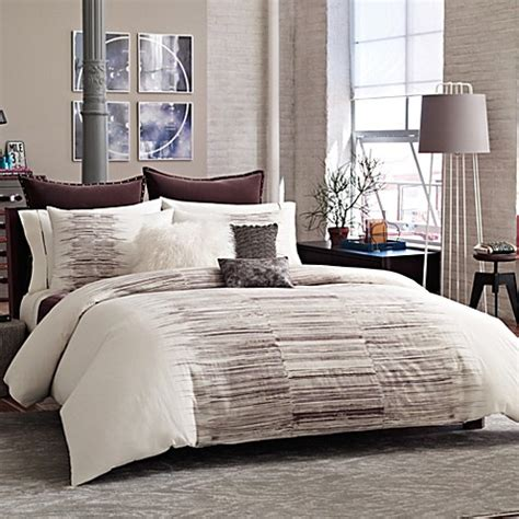 kenneth cole bedding kenneth cole reaction home landscape duvet cover bed