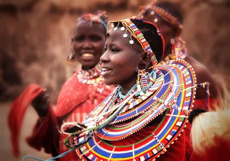 Masai Women   valentino goes african masai for 2016 read this before