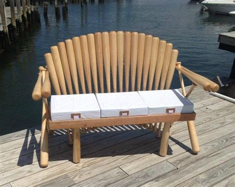 Baseball Bat Bench Plans 84 best images about study lounge den on