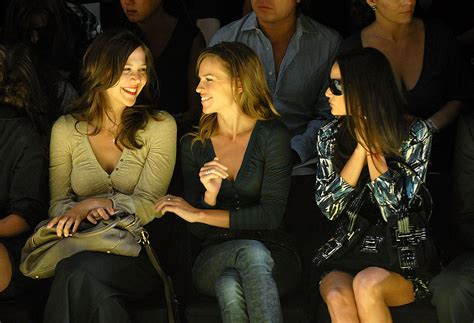 New York Fashion Week Maggie Demi Hilary Clivecelebs Out In For Miss Sixty by Pictures Of At New York Fashion Week