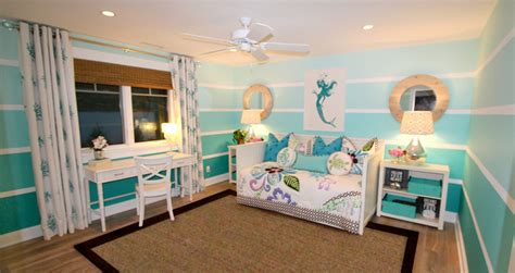 ocean themed girls bedroom tropical bedroom