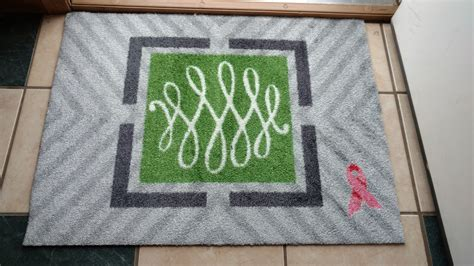 Pink Ribbon Giveaways - welcome a cure pink ribbon mat plus giveaway central minnesota mom