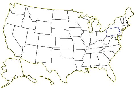 united states map without names united states map without state names thefreebiedepot