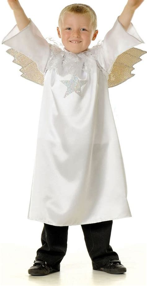childrens kids boys girls angel gabriel nativity play