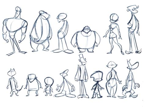 how to draw doodle character character animation sheets related pictures 3d animation