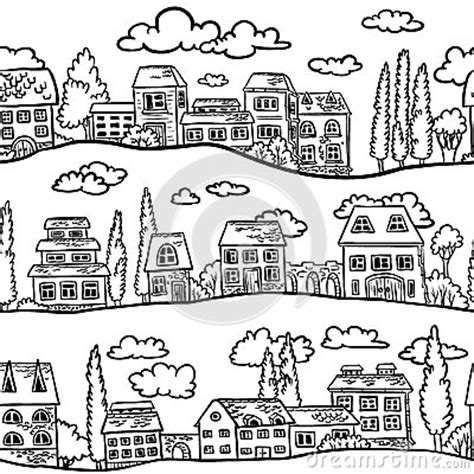 community map coloring page preschool neighborhood map pictures to pin on pinterest