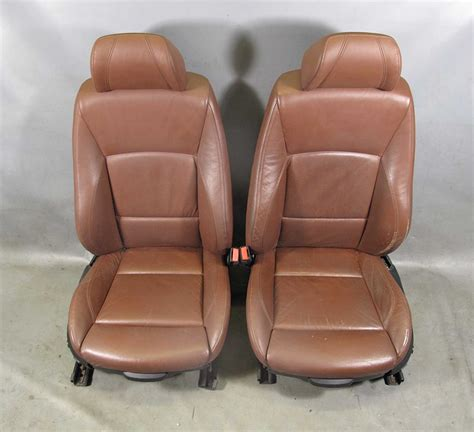 bmw 3 series e90 leather seats bmw e90 e91 3 series 4dr front sports seat pair terra