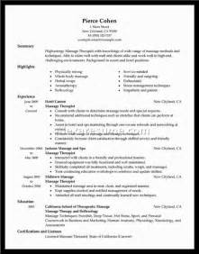therapist resume template therapist resume exles document