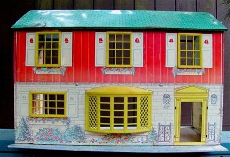 tin doll house reserved for kyle vintage doll house wolverine tin litho two story