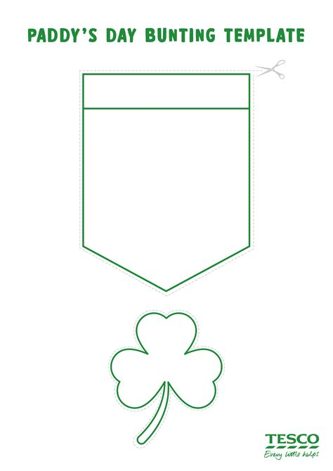 st s day photo card template how to make st s day bunting 187 food community
