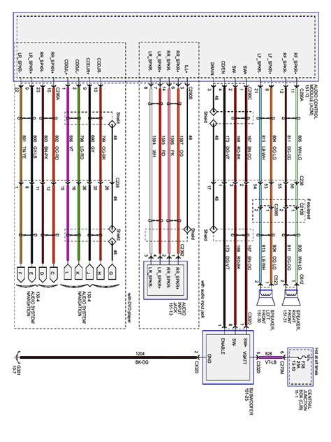 2003 ford taurus radio wiring diagram 2000 ford taurus