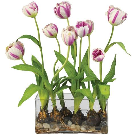 tulips arrangements silk flower arrangements silk arrangements gt tulips