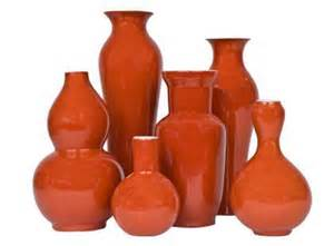 orange home decor accessories jayson home amp garden accessories vases persimmon