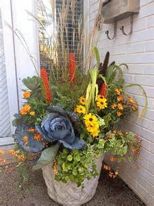 25 best fall flower pots ideas on pinterest fall potted