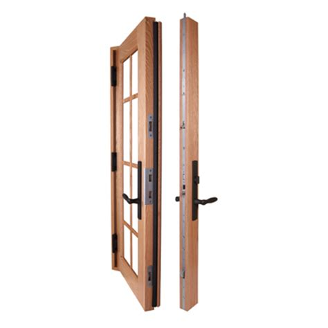 French Patio Door Hardware by Sentry Multi Point Hinged Patio Door System Truth Hardware