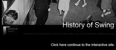 past of swing the history of swing viewpoints online