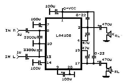 la4108 circuit diagram la4108 circuit diagram 28 images lifiers circuit salad