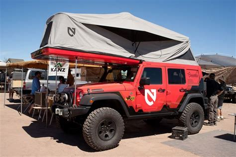Jeep Rooftop Tent Jeep Wrangler With Awesome Rooftop Tent Now This Is