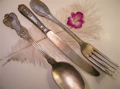 Spoon Wall Decor by Wall Oversize Fork Knife And Spoon Metallic With