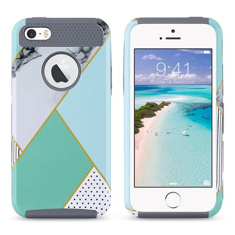 best rugged iphone 5s shockproof rugged hybrid rubber cover for apple iphone 5s 5 se ebay