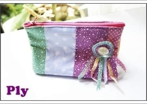 Pouch Bkk Cosmetic Bag Cosmetic Bag 183 A Make Up Bag 183 Sewing On Cut Out Keep