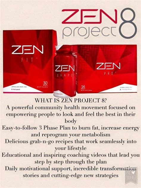 Zen Project 8 Detox Recipes by Join Us For Zen Project 8 Get Healthier In The New Year