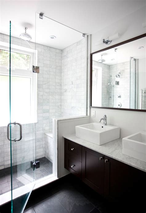 Bathrooms With Showers Showers For Small Bathrooms Bathroom Contemporary With Beige Brown Floating Vanity