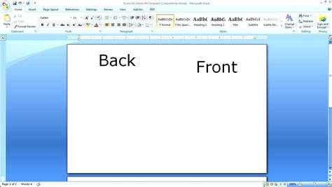 how to print avery business cards in word 2010 best