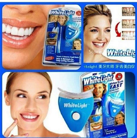 Pemutih Gigi White Care whitelight pemutih gigi artis aman cepat mudah gigi putih