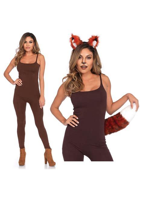 fox women costume set animal costumes