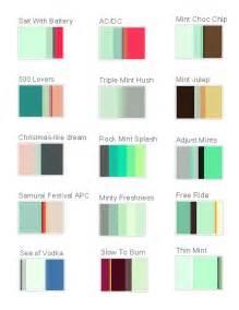 colors that go with mint mint color palettes mint colored wedding theme