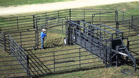 Corral For Sale Rawhide Portable Corral On The American Rancher