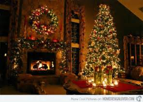 Contemporary Living Room Designs 15 christmas decorated living rooms home design lover