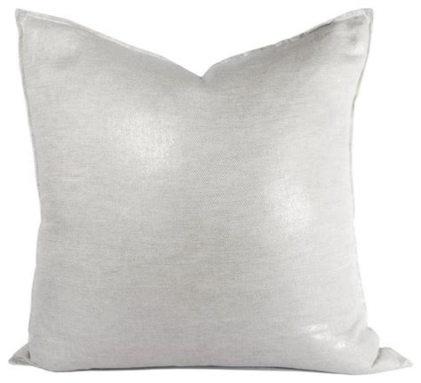 houzz pillows chanel metallic pillow contemporary decorative pillows